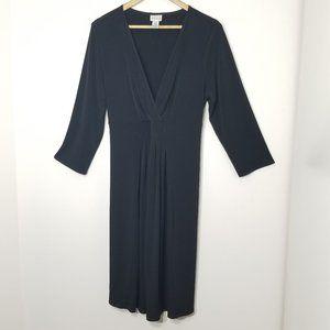 Motherhood | Black A-Line Dress V Neckline XL